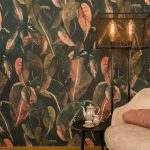 Wandbehang in textiel Rainforest collectie