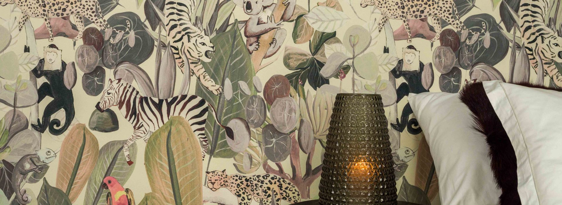 Wandverkleidungen aus Textil Rainforest kollektion by Kanvazz